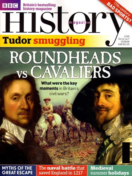 BBC History Cover - 7/1/2012