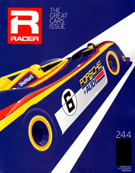 Racer Cover - 8/1/2012