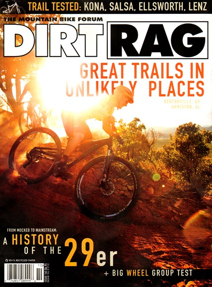 Dirt Rag Cover - 8/1/2012