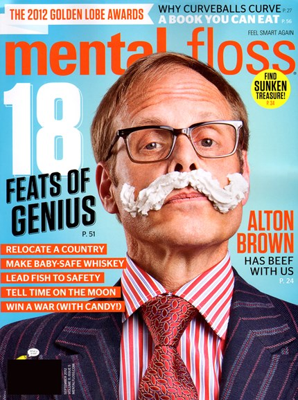 Mental Floss Cover - 9/1/2012