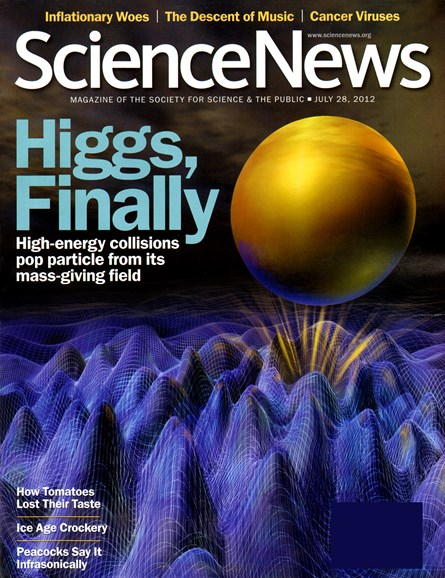Science News Cover - 7/28/2012