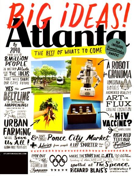 Atlanta Magazine Cover - 8/1/2012