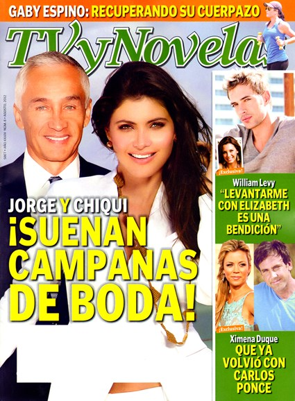 Tv Y Novelas Cover - 8/1/2012