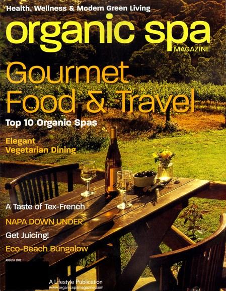 Organic Spa Cover - 8/1/2012