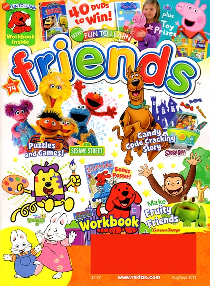 Preschool Friends Cover - 8/1/2012