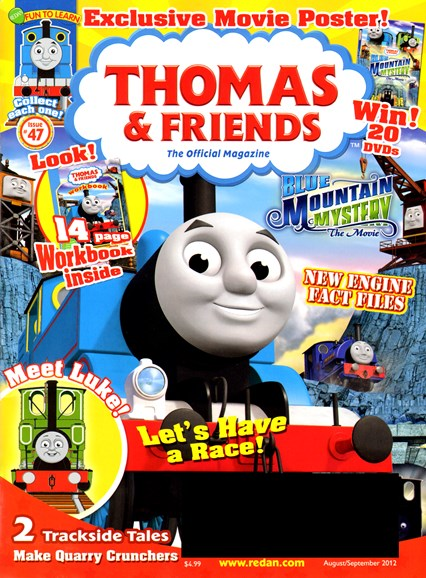 Thomas & Friends Cover - 8/1/2012