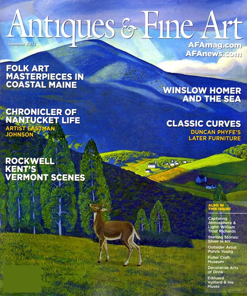 Antiques & Fine Art Cover - 6/1/2012