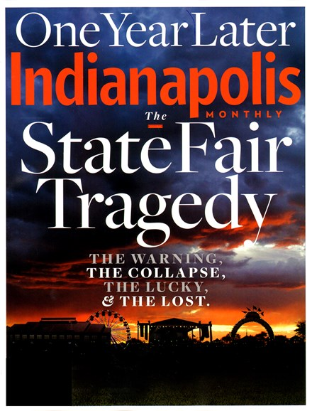 Indianapolis Monthly Cover - 8/1/2012
