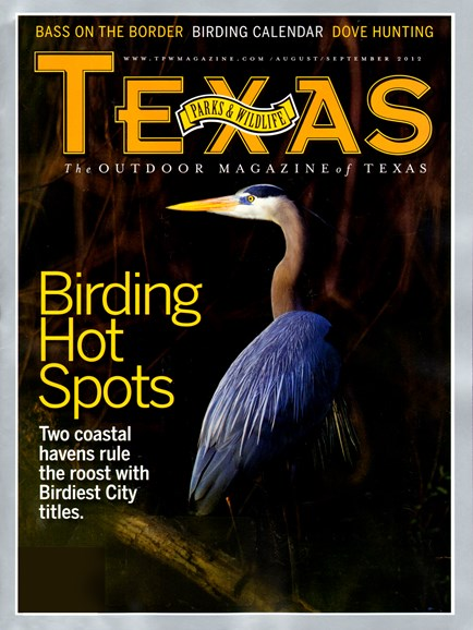 Texas Parks & Wildlife Cover - 8/1/2012