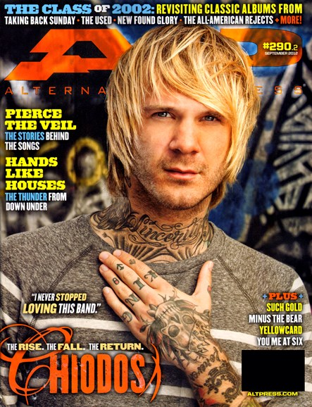 Alternative Press Cover - 9/1/2012