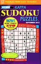 Blue Ribbon Kappa Sudoku Puzzles Magazine 9/1/2012