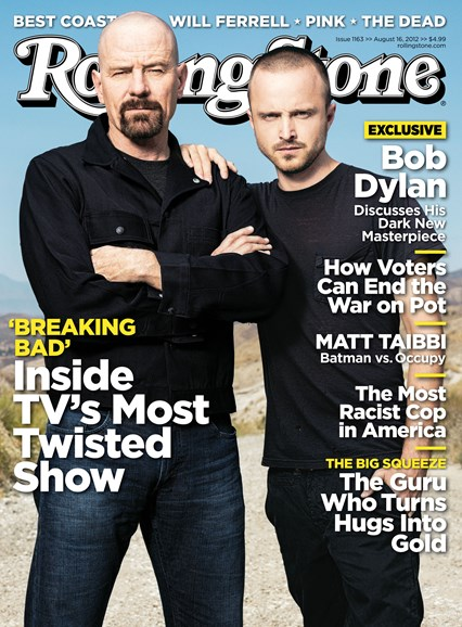 Rolling Stone Cover - 8/16/2012