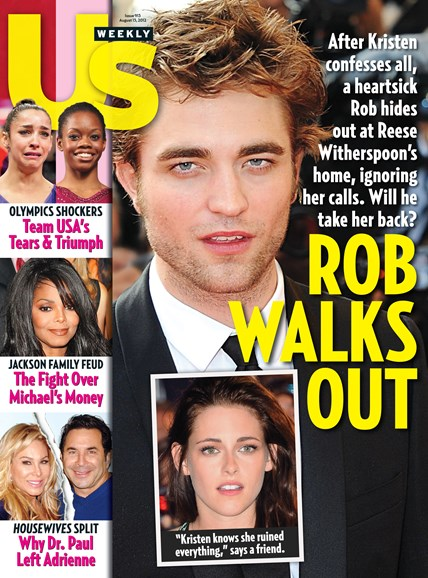 Us Weekly Cover - 8/13/2012