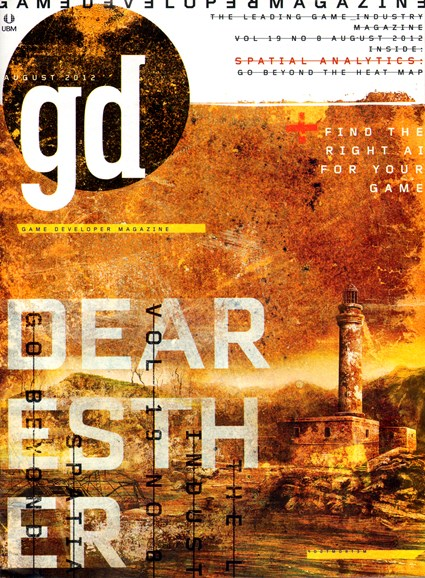 Game Developer Cover - 8/1/2012