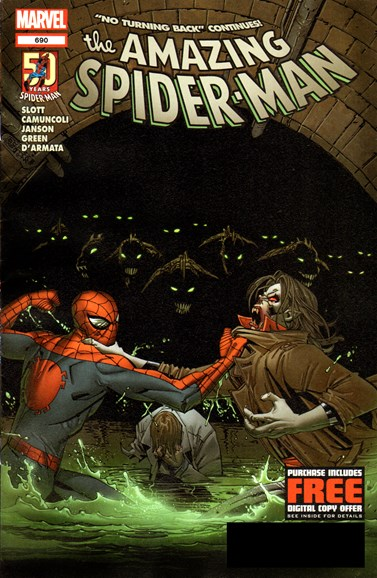 Amazing Spider-Man Cover - 8/15/2012