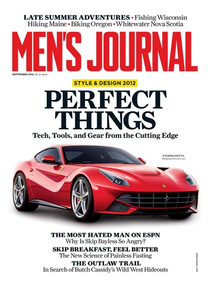 Men's Journal Cover - 9/1/2012