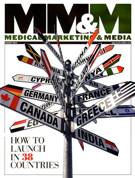 Medical Marketing & Media Cover - 8/1/2012