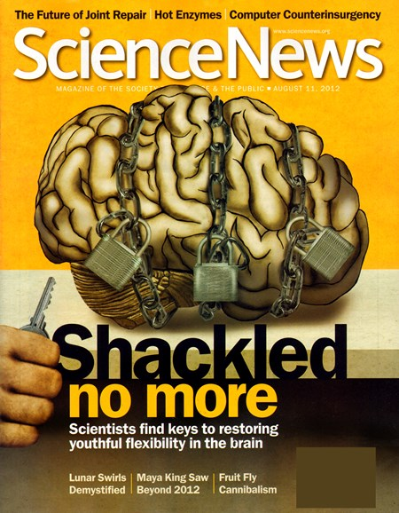 Science News Cover - 8/11/2012