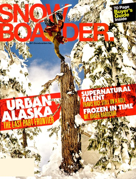 Snowboarder Cover - 8/1/2012