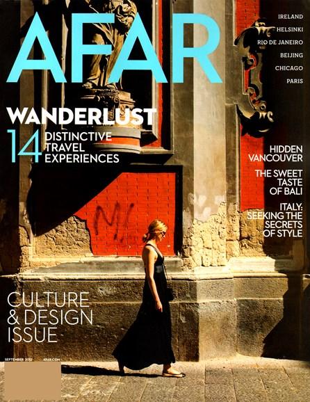 AFAR Cover - 9/1/2012