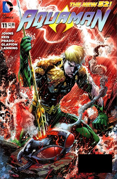 Aquaman Cover - 9/1/2012