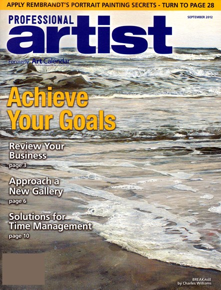 Professional Artist Cover - 9/1/2012