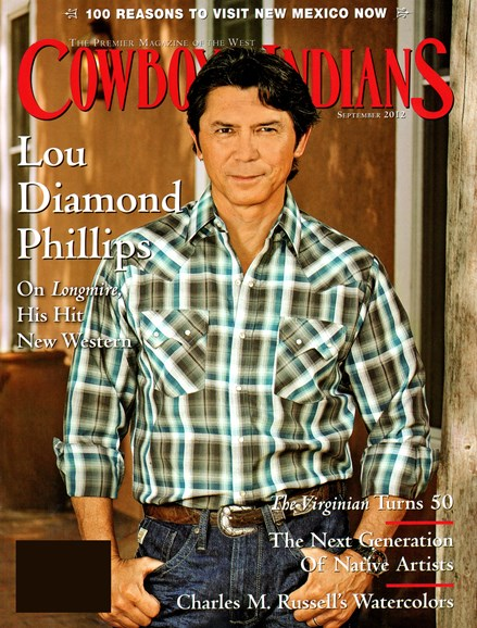 Cowboys & Indians Cover - 9/1/2012
