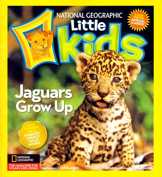 National Geographic Little Kids Cover - 9/1/2012