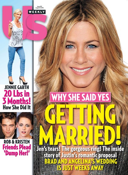 Us Weekly Cover - 8/27/2012