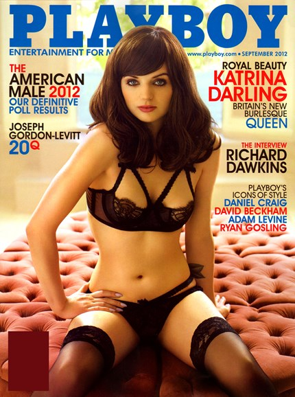 Playboy Cover - 9/1/2012