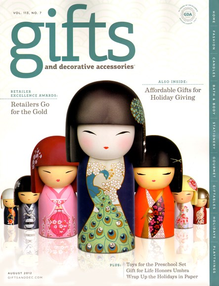Gifts And Decorative Accessories Cover - 8/1/2012