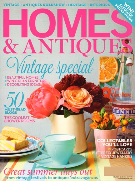 Homes & Antiques Cover - 8/1/2012