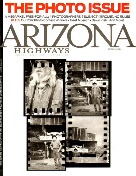 Arizona Highways Cover - 9/1/2012