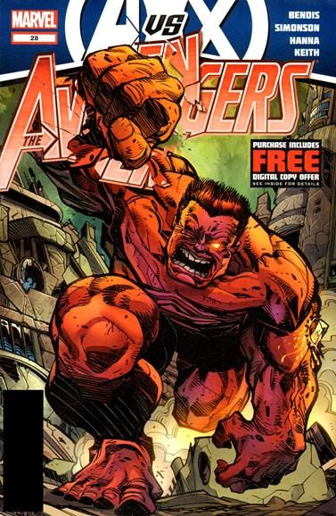 Avengers Cover - 9/1/2012
