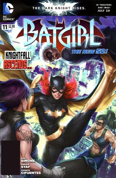 Batgirl Cover - 9/1/2012