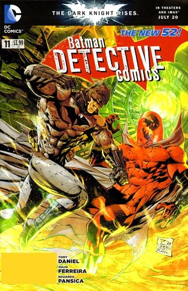 Detective Comics Cover - 9/1/2012