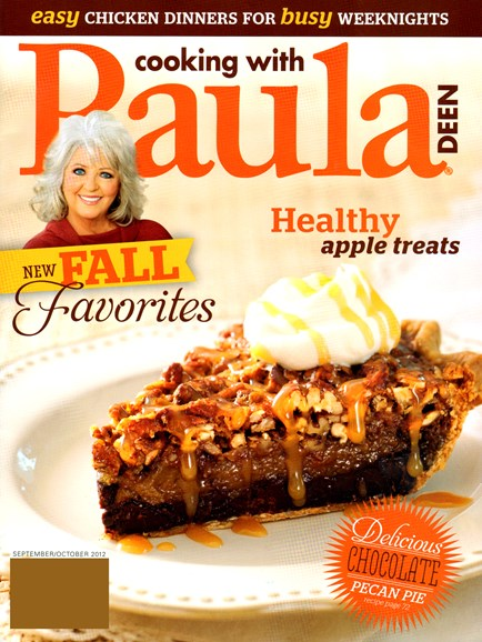Cooking With Paula Deen Cover - 9/1/2012