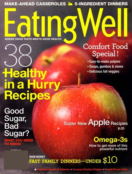 EatingWell Cover - 9/1/2012