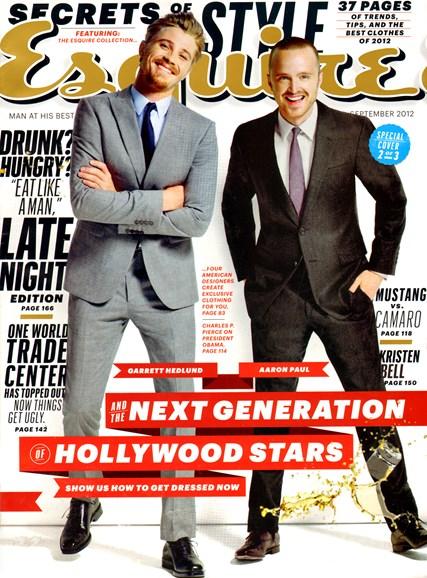 Esquire Cover - 9/1/2012
