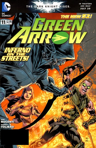 Green Arrow Cover - 9/1/2012
