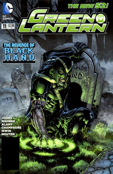 Green Lanterns Cover - 9/1/2012