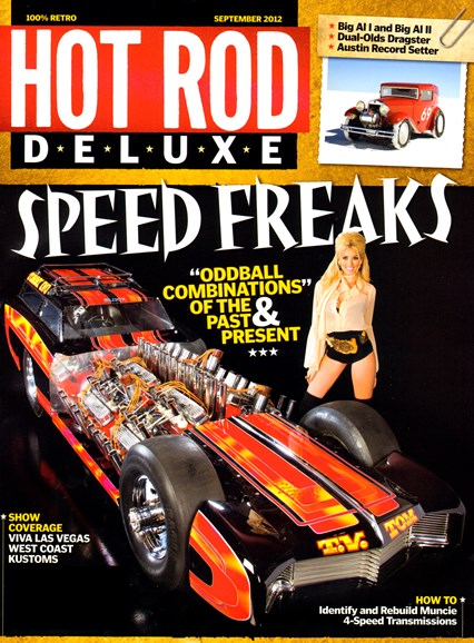 Hot Rod Deluxe Cover - 9/1/2012