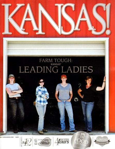 KANSAS! Cover - 9/1/2012