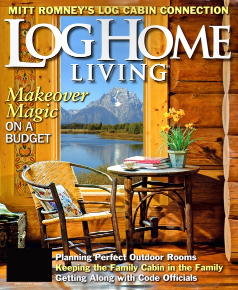 Log and Timber Home Living Cover - 9/1/2012