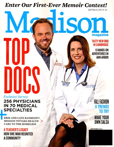 Madison Magazine Cover - 9/1/2012