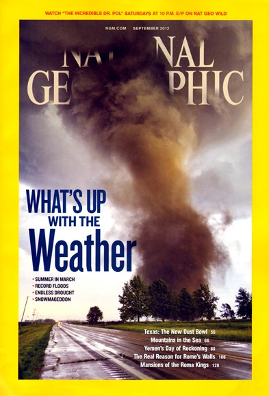 National Geographic Cover - 9/1/2012