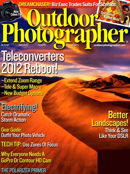 Outdoor Photographer Cover - 9/1/2012