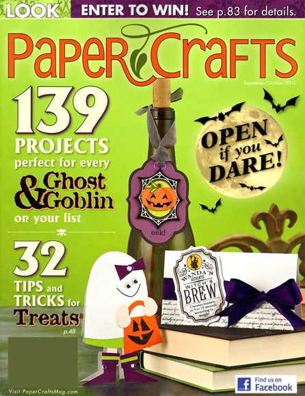 Paper Crafts Cover - 9/1/2012