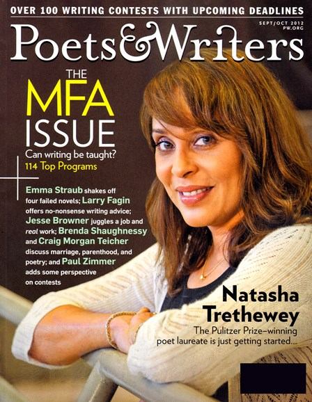 Poets & Writers Cover - 9/1/2012