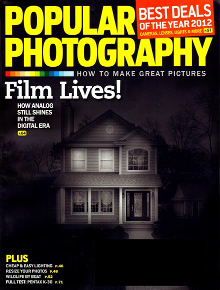 Popular Photography Cover - 9/1/2012